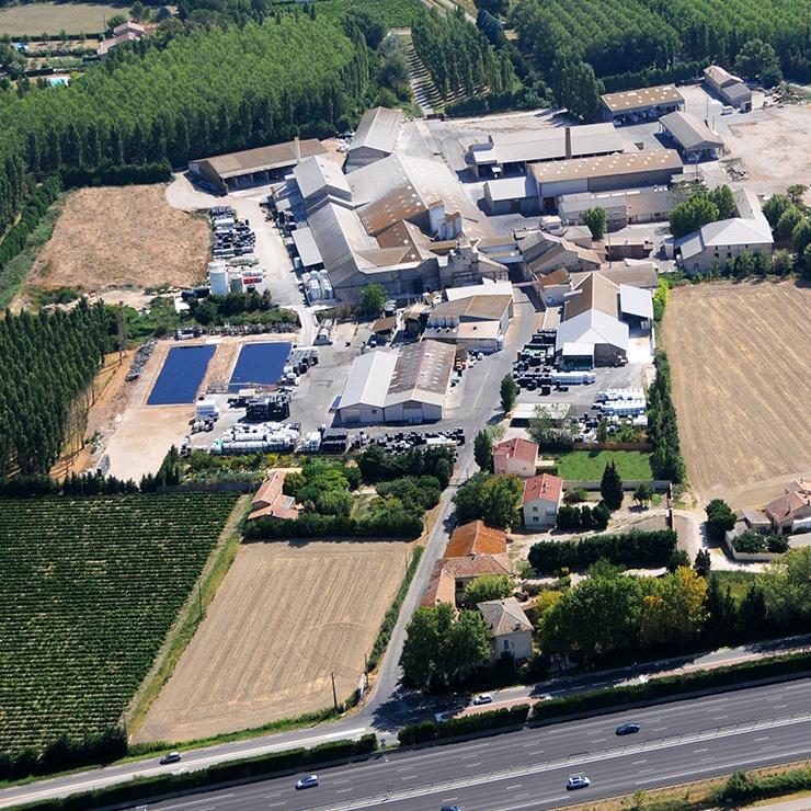 Notre usine de production dans le sud-est de la France